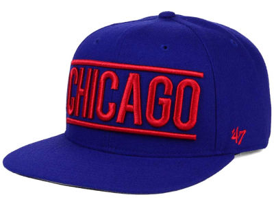 Chicago Cubs '47 MLB TC On Track Snapback Cap
