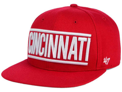 Cincinnati Reds '47 MLB TC On Track Snapback Cap
