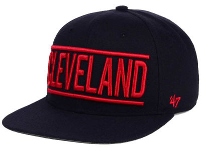 Cleveland Indians '47 MLB TC On Track Snapback Cap