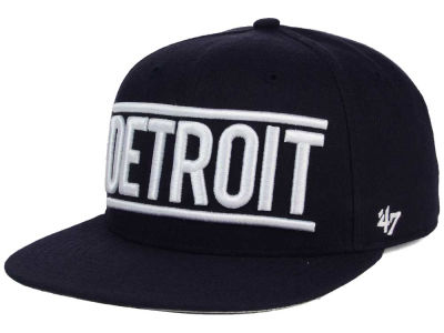 Detroit Tigers '47 MLB TC On Track Snapback Cap
