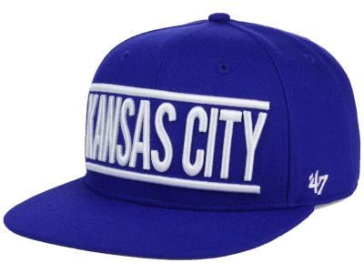 Kansas City Royals '47 MLB TC On Track Snapback Cap