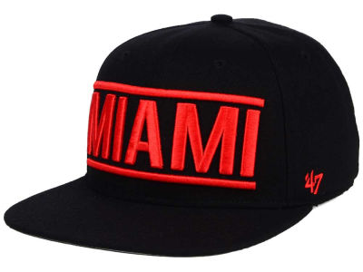 Miami Marlins '47 MLB TC On Track Snapback Cap