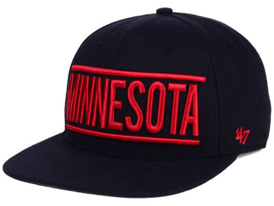 Minnesota Twins '47 MLB TC On Track Snapback Cap