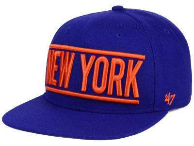 New York Mets '47 MLB TC On Track Snapback Cap