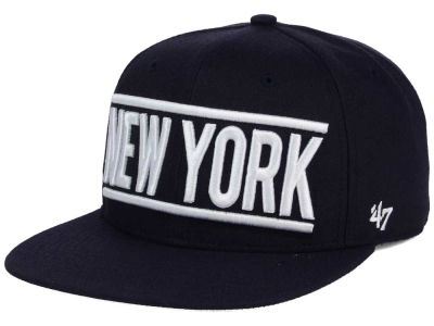 New York Yankees '47 MLB TC On Track Snapback Cap