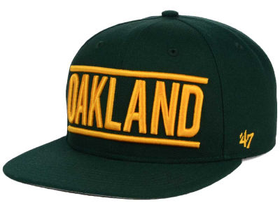 Oakland Athletics '47 MLB TC On Track Snapback Cap