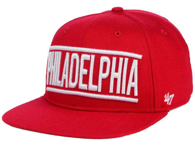 Philadelphia Phillies '47 MLB TC On Track Snapback Cap