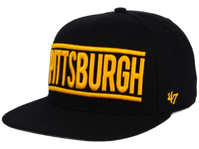 Pittsburgh Pirates '47 MLB TC On Track Snapback Cap