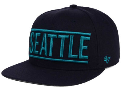 Seattle Mariners '47 MLB TC On Track Snapback Cap