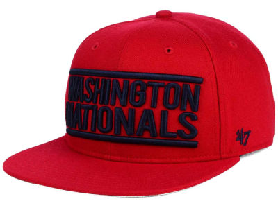 Washington Nationals '47 MLB TC On Track Snapback Cap