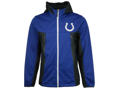 Indianapolis Colts GIII NFL Men's Repetition Full Zip Hooded Jacket