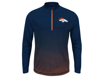 Denver Broncos NFL Men's Intimidating Quarter Zip Jacket