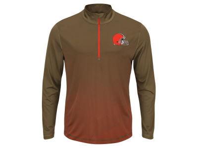 Cleveland Browns NFL Men's Intimidating Quarter Zip Jacket