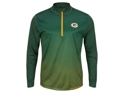 Green Bay Packers NFL Men's Intimidating Quarter Zip Jacket