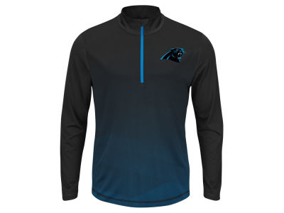 Carolina Panthers NFL Men's Intimidating Quarter Zip Jacket