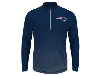 New England Patriots NFL Men's Intimidating Quarter Zip Jacket