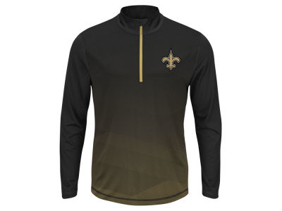 New Orleans Saints NFL Men's Intimidating Quarter Zip Jacket