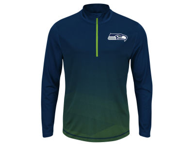 Seattle Seahawks NFL Men's Intimidating Quarter Zip Jacket