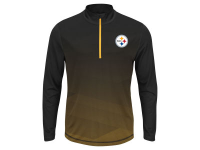Pittsburgh Steelers NFL Men's Intimidating Quarter Zip Jacket