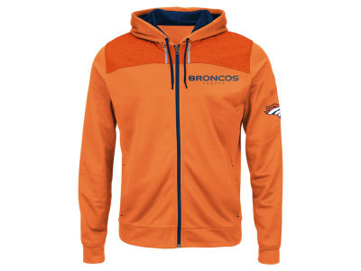 Denver Broncos NFL Men's Game Elite Full Zip Hoodie