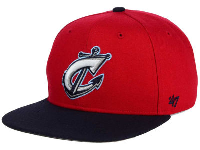 Columbus Clippers '47 MiLB Shot Snapback Cap