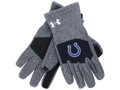 Indianapolis Colts Under Armour Survivor Fleece Gloves