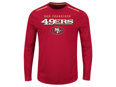 San Francisco 49ers NFL Men's Fanfare IX Long Sleeve Synthetic Long Sleeve T-Shirt