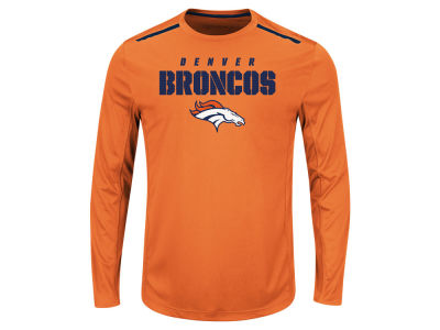 Denver Broncos NFL Men's Fanfare IX Long Sleeve Synthetic Long Sleeve T-Shirt