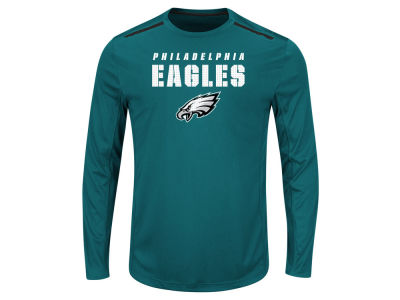 Philadelphia Eagles NFL Men's Fanfare IX Long Sleeve Synthetic Long Sleeve T-Shirt