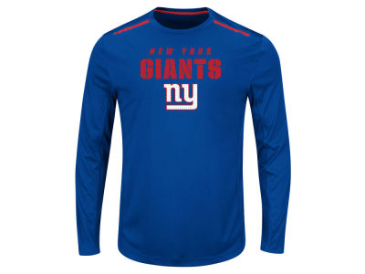 New York Giants NFL Men's Fanfare IX Long Sleeve Synthetic Long Sleeve T-Shirt