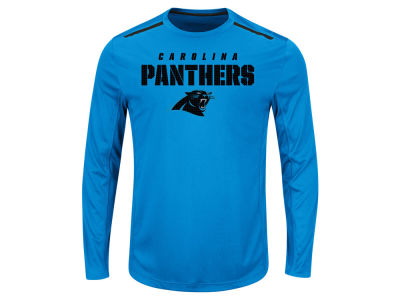 Carolina Panthers NFL Men's Fanfare IX Long Sleeve Synthetic Long Sleeve T-Shirt