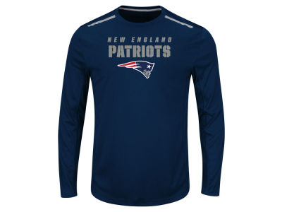 New England Patriots NFL Men's Fanfare IX Long Sleeve Synthetic Long Sleeve T-Shirt