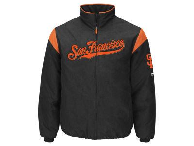 San Francisco Giants Majestic MLB Men's On-Field Thermal Jacket