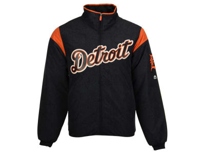 Detroit Tigers Majestic MLB Men's On-Field Thermal Jacket