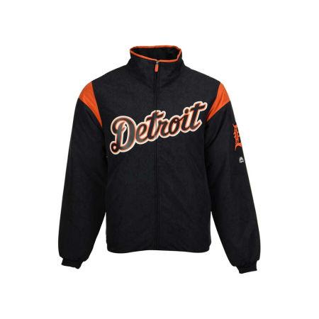 Detroit Tigers Majestic MLB Men's On-Field Thermal Jacket