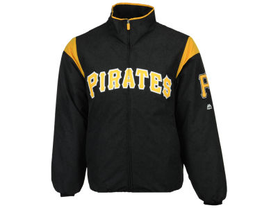 Pittsburgh Pirates Majestic MLB Men's On-Field Thermal Jacket