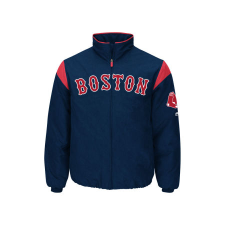 Boston Red Sox Majestic MLB Men's On-Field Thermal Jacket