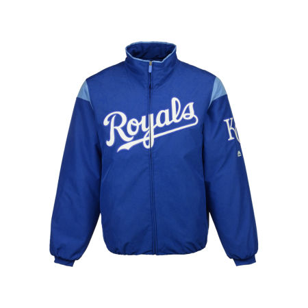 Kansas City Royals Majestic MLB Men's On-Field Thermal Jacket