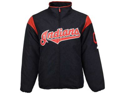 Cleveland Indians Majestic MLB Men's On-Field Thermal Jacket