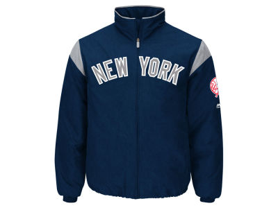 New York Yankees Majestic MLB Men's On-Field Thermal Jacket