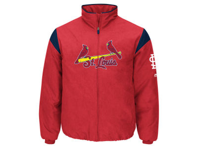 St. Louis Cardinals Majestic MLB Men's On-Field Thermal Jacket