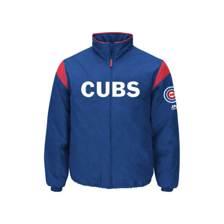 Chicago Cubs Majestic MLB Men's On-Field Thermal Jacket