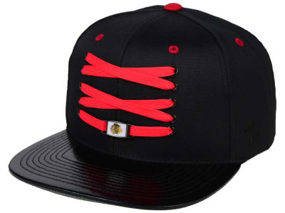 Chicago Blackhawks Zephyr NHL Lacer Skate Snapback Hat