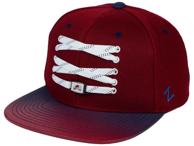 Colorado Avalanche Zephyr NHL Lacer Skate Gradient Snapback Hat