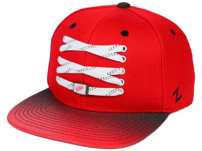 Detroit Red Wings Zephyr NHL Lacer Skate Gradient Snapback Hat