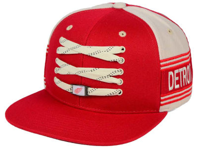 Detroit Red Wings Zephyr NHL Original 6 Locker Snapback Hat