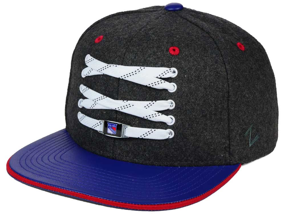 timeless design 916c3 2293c ... discount code for new york rangers zephyr nhl lacer skate snapback hat  9f9c5 3f0c4