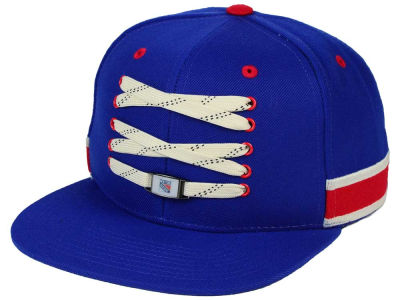 New York Rangers Zephyr NHL Original 6 Locker Snapback Hat