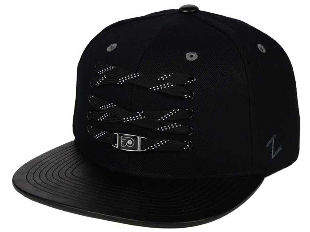 Philadelphia Flyers Zephyr NHL Premier Lacer Snapback Hat  0c032a53e2f