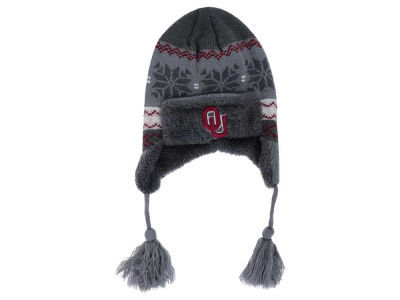 Oklahoma Sooners Top of the World NCAA Toddler Turbulent Tassle Knit